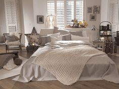 Long Beach Decke - Off-White | Barefoot Living by Til Schweiger #interior #decke