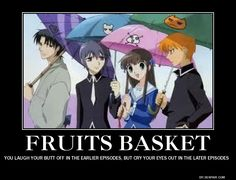 Fruits Basket, This is the first anime that I watched and manga I've read. Fruits Basket Anime, Fruits Basket Funny, Funny Fruit, I Love Anime, Awesome Anime, Me Me Me Anime, Awesome Art, Otaku, Kuroko