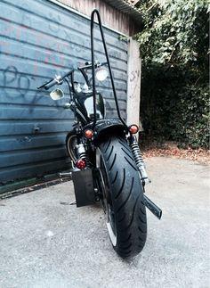 Custom sportster sissy bar | Motorcycles | Pinterest | Bar