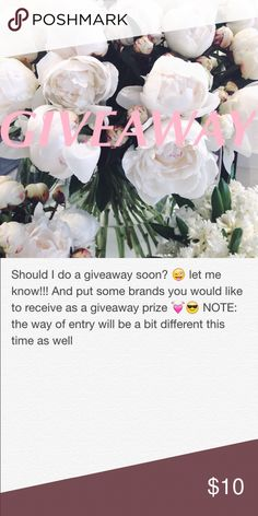 HUGE Giveaway // Ends August 20th 🌻 ONE WINNER WILL WIN THIS GIVEAWAY💞😇 prizes will be posted soon x Brandy Melville Other