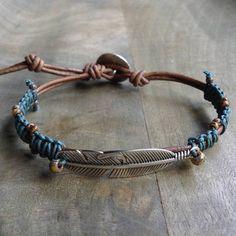 This leather macramé bracelet is made with Miyuki… (scheduled via http://www.tailwindapp.com?utm_source=pinterest&utm_medium=twpin)