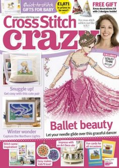 Cross Stitch Crazy January 2016 digital magazine - Read the digital edition by Magzter on your iPad, iPhone, Android, Tablet Devices, Windows 8, PC, Mac and the Web.