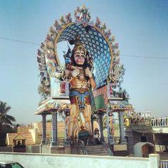 hanuman, hindu god statue