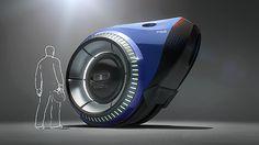 Fox Sports Opener by Nick Kaloterakis [Futuristic Vehicles: http://futuristicnews.com/category/future-transportation/]