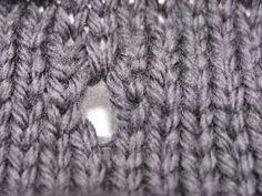 vertical buttonhole