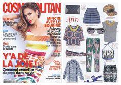 Chloé Stora - Cosmopolitan www.chloestora.com #chloestora #parution #presse #cosmopolitan #magazine #fashion