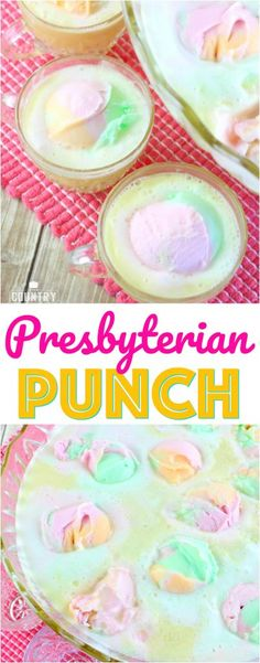 Presbyterian Punch recipe from The Country Cook