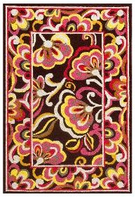Pink and orange Vera Bradley rug....love!