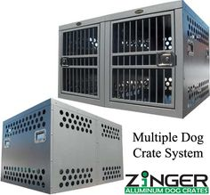 Double Dog Crate Systems :: Zinger Dog Crates :: Zinger Sport Dog Gear Inc.