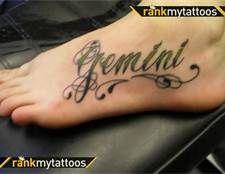 Gemini Tattoos - Bing Images