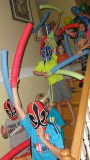 Power Ranger Birthday Party!