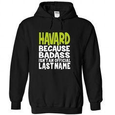 (BadAss) HAVARD - #boyfriend sweatshirt #sweater for women. GET IT => https://www.sunfrog.com/Names/BadAss-HAVARD-jfrndxzypu-Black-45843562-Hoodie.html?68278