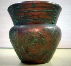Pátina Envelhecida – cobre oxidado, como envelhecer objetos