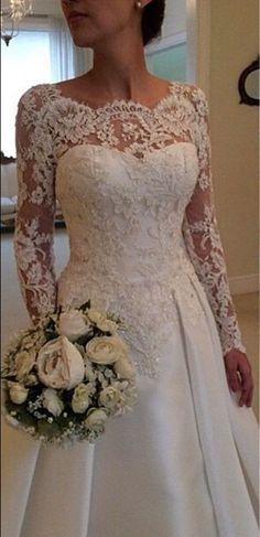 new white ivory mermaid lace wedding bridal dress custom size 6 8 10 12 14 16 18 | eBay