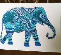 Animal Kingdom postcard (Pens: Faber Castell Pitt and Staedtler triplus fineliner)