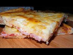 Ricetta PIZZA PARIGINA con Pasta Sfoglia - GiAlQuadrato #27 - YouTube