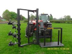 Quickfencer is a new concept for the unrolling and tensioning of wire fencing and now available with a built on post driver. This machine will save you time and money when erecting new fencing, making your job easier and safer. It is versatile and can be mounted on a tractor via a three point linkage, a front mounting, on a telescopic arm or the blade of a digger.