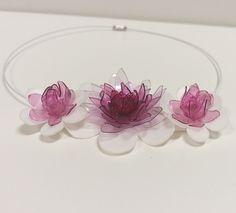 Náhrdelník květy  P.E.T. Art