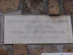 VISTO DAL basso    : ROMA Maestre Pie Filippini e il menefreghismo dell...