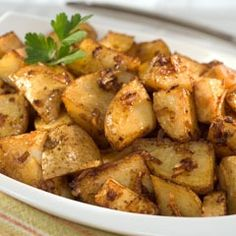 Oven Roasted Potatoes with onion soup mix