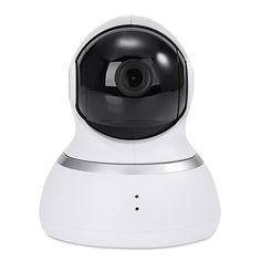 [HK Stock] Original Xiaoyi YI 1080p Dome Camera Home Security System WiFi IP Camera 360 Degree Rotation Night Vision Motion Detection Two-way - White(US Plug)
