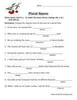 Printables Fun Grammar Worksheets worksheets parts of speech and grammar on pinterest information noun worksheet nouns plural person place or thing worksheets