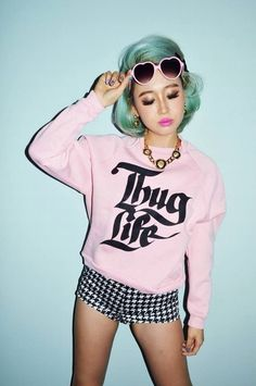 Conflicting Fashion/Hair Envy!!! Love!♥