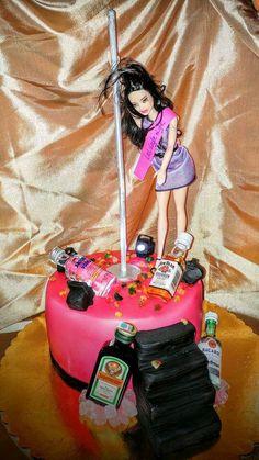 Bachelorette party cake