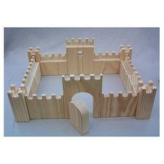 Wooden Toy Castle