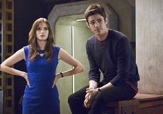"The Flash -- ""Versus Zoom"" -- Image: FLA218A_0177b.jpg -- Pictured (L-R): Danielle Panabaker as Caitlin Snow and Grant Gustin as Barry Allen -- Photo: Cate Cameron/The CW -- © 2016 The CW Network, LLC. All rights reserved.  Read more at http://www.comingsoon.net/tv/news/671837-its-flash-versus-zoom-dawn-of-speed-force-in-new-photos#EgTAUBHxCQFeEyt1.99"