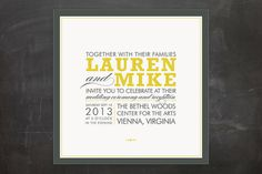 COCKTAIL HOUR Wedding Invitations by Ariel Rutland at minted.com  (coupon code survey2012 for 10% discount)