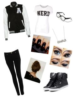"""""""Swagged Out Nerd"""" by dancerninjacami ❤ liked on Polyvore"""