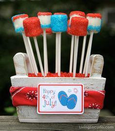 4th Of July Crafts | Huge roundup of 4th of July ideas - recipes, crafts, decor & more! by ...