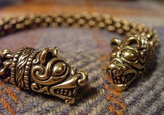 Norse bear torc by The Crafty Celts