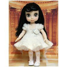 13 отметок «Нравится», 1 комментариев — 바늘에꿈 (@sr9676) в Instagram: «아이네스님의 샤브레드레스 함뜨!!! 우리 백설이 진짜 공주님으로 😄😄😄 #disneybabydoll #snow white #dollstagram #dolls #knit…»