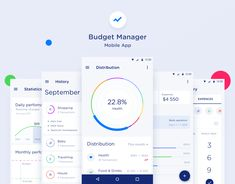 """Check out my @Behance project: """"Budget Manager Mobile App"""" https://www.behance.net/gallery/59801469/Budget-Manager-Mobile-App"""