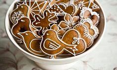 * Perníčky Christmas Sweets, Christmas Baking, Christmas Cookies, Xmas, Dessert Chef, Winter Treats, Czech Recipes, Culinary Arts, Creative Food