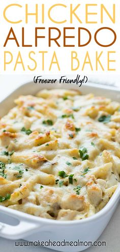 Check out this easy Baked Chicken Alfredo casserole! It's delicious penne pasta. Check out this easy Baked Chicken Alfredo casserole! It's delicious penne pasta and grilled chic Chicken Alfredo Casserole, Chicken Alfredo Pasta Baked, Pasta Alfredo, Chicken Alfredo Sauce Recipe Easy, Chicken Alfredo Recipe Olive Garden, Recipes With Alfredo Sauce, Alfredo Bake Recipe, Recipe Chicken, Fettucini Alfredo Bake