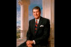 Ronald Reagan, 40th President of the United States, Official White House Portrait