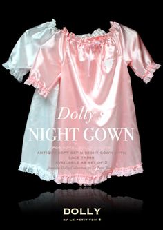 DOLLY NIGHT GOWN set of 2