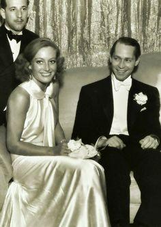 Joan Crawford, Franchot Tone - married 1935-1939