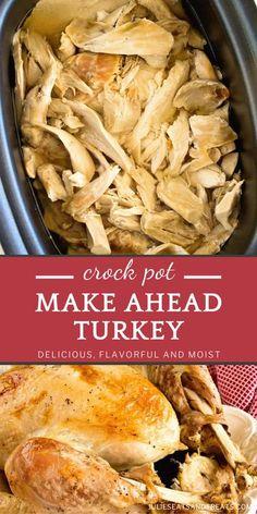 Crock Pot Make Ahead Turkey Recipe