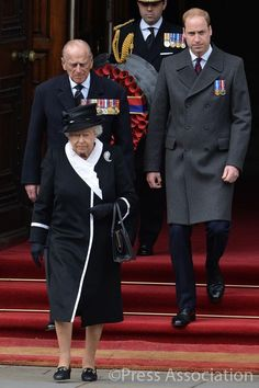 BritishMonarchy on Twitter:  Queen Elizabeth, Duke of Edinburgh and their grandson the Duke of Cambridge attended a ceremony to mark 100 years since the Gallipoli Campaign of World War I, Cenotaph, London, April 25, 2015