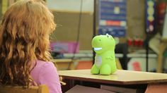 "CogniToys Dino Each Dino comes with a variety of custom modules to engage kids in educational play including problem-solving challenges, geography games, historical fun facts and more. Once the Dino is configured using the CogniToys App, it presents age appropriate content from the first ""hello!"""