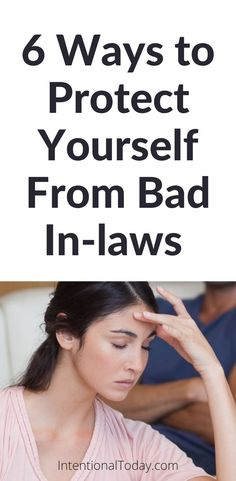 Bad in-laws: they can make your life miserable! While meddling in-laws are exhausting, we can still enjoy our marriage and take steps to protect it. So let's talk about how we can do that. Six practical ways to deal with disrespectful in-laws so you can enjoy your life and marriage Communication In Marriage, Intimacy In Marriage, Happy Marriage, Marriage Advice, Advice For Newlyweds, Newlywed Advice, Happy Party, The Girlfriends, Christian Marriage
