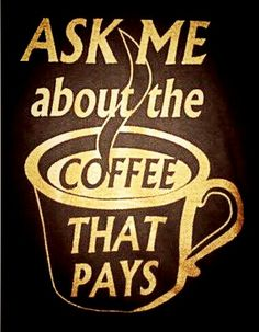 IF you haven't heard about ORGANO GOLD. Well you should fastest-growing company.pays you too drink coffee. I Love Coffee, Best Coffee, Coffee Business, Coffee Branding, Coffee Quotes, Coffee Drinks, Hot Chocolate, Drink Sleeves, Health Benefits