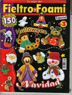 Revista navideña fieltro y foami - <datvara:blog.title></datvara:blog.title>