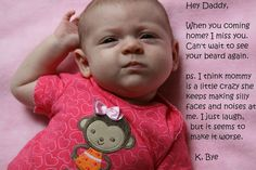 'Hey Daddy' funny baby stuff and ideas for dad