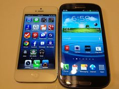 iPhone 5 vs. Samsung Galaxy S3 Benchmarks Only Review #Attmobilereview
