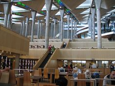 Library of Alexandria...still wish the original was here for us to enjoy. Can you imagine the treasures!?!?!?!